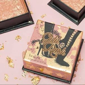 NEW Benefit Cosmetics GoldRush Golden Nectar Blush